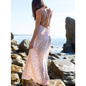 ACACIA ISLAND ORCHID DRESS